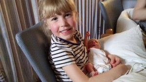 Jacob with his sister, the beautiful Sophie