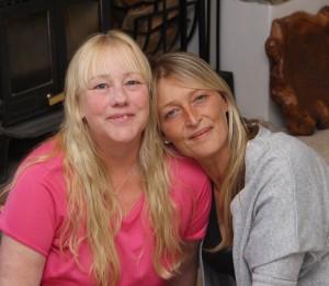 Me and my chemo bud Karen
