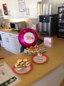 Gatwick cakes and £100 raised :-)